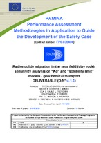 PAMINA : performance assessment methodologies in application to guide the development of the safety case