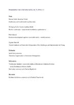 Ekonomická revue cestovného ruchu