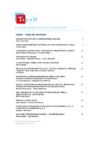 Teoretické aspekty prierezových ekonomík IV