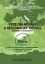 Verejná správa a regionálny rozvoj