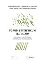 Forum statisticum Slovacum